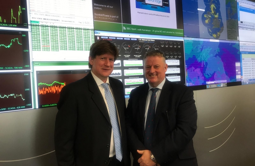 Visit to ScottishPower
